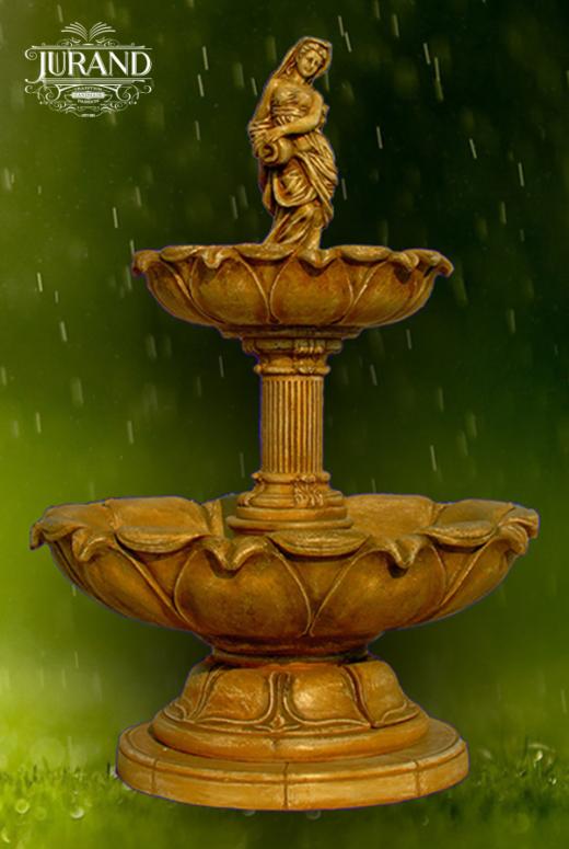 1068 Fontanna Kwiat Lotosu z dzbanem