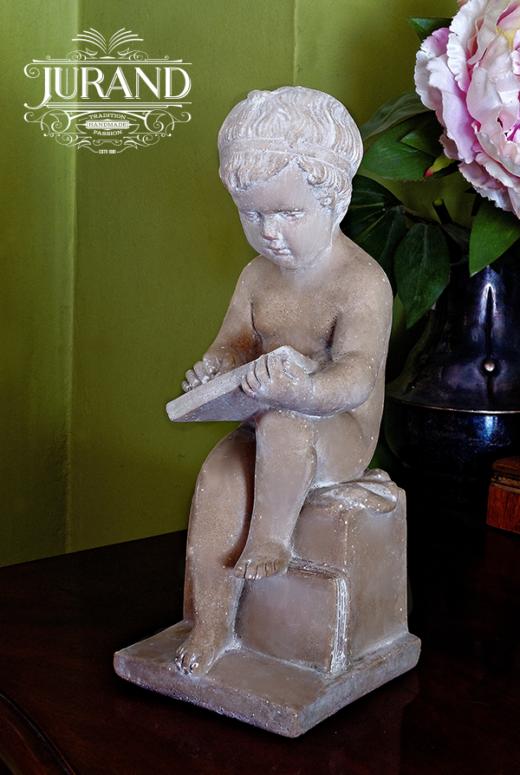 1637 Chłopiec piszący