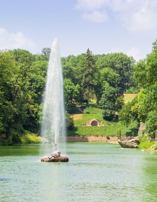 rodzaje fontann
