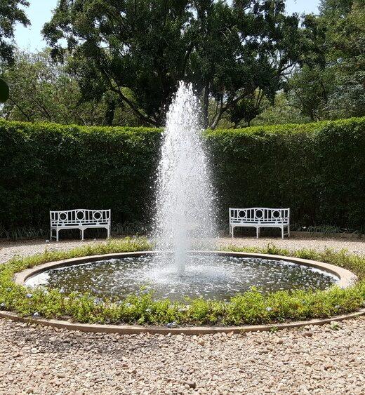 ogrodowa fontanna