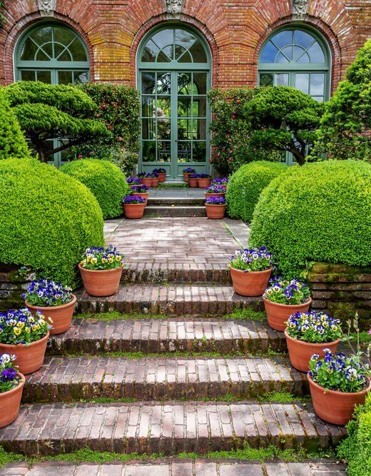 ogrod w stylu angielskim